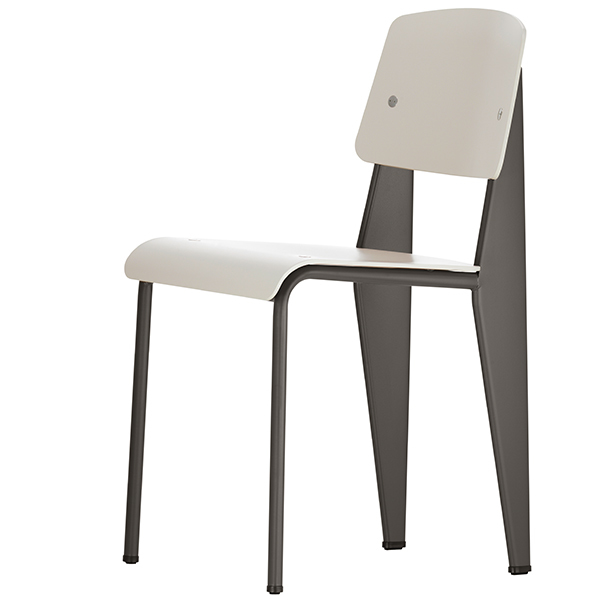 Vitra Standard SP chair, basalt - warm grey