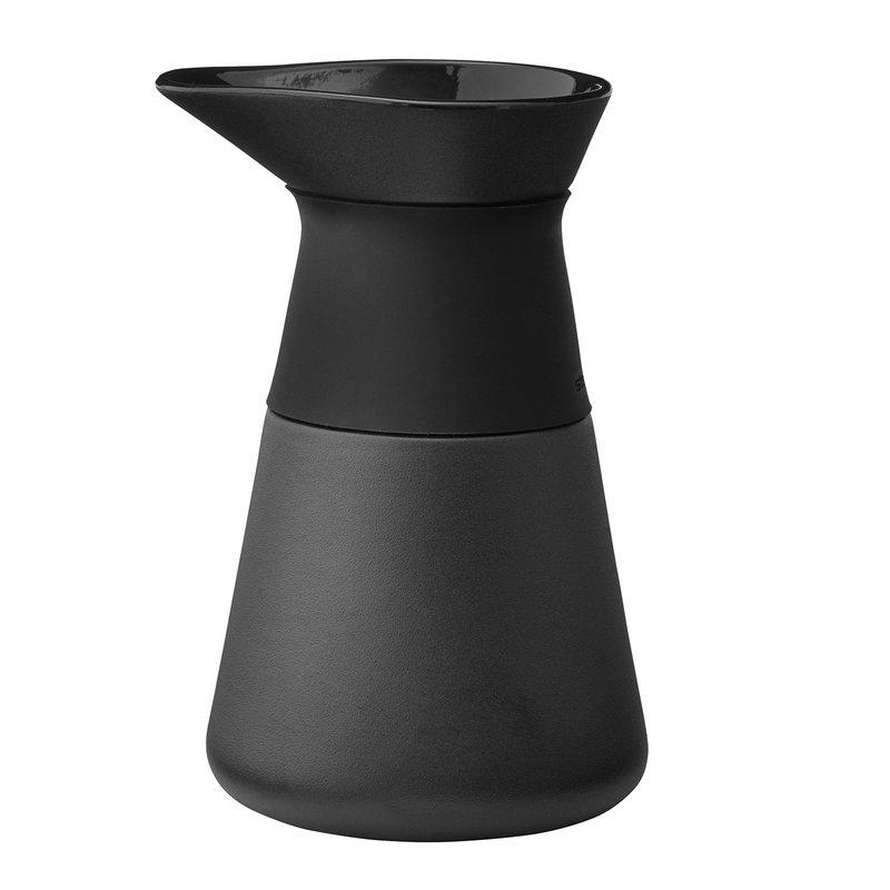 Stelton Theo milk jug, black