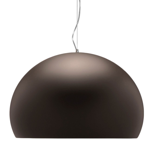 FL/Y pendant, opaque brown