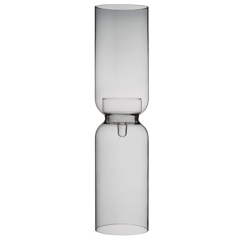 Iittala Lantern candle holder 600 mm, dark grey