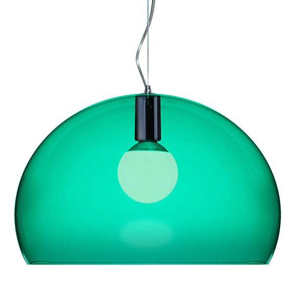 Kartell FL/Y pendant lamp, emerald