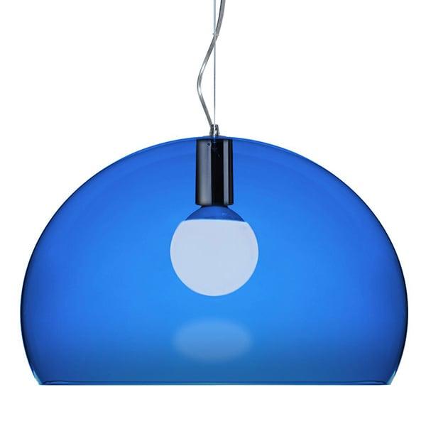 Kartell FL/Y pendant lamp, cobalt