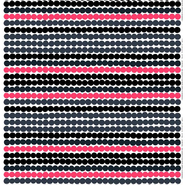 Marimekko Räsymatto kangas, pinkki