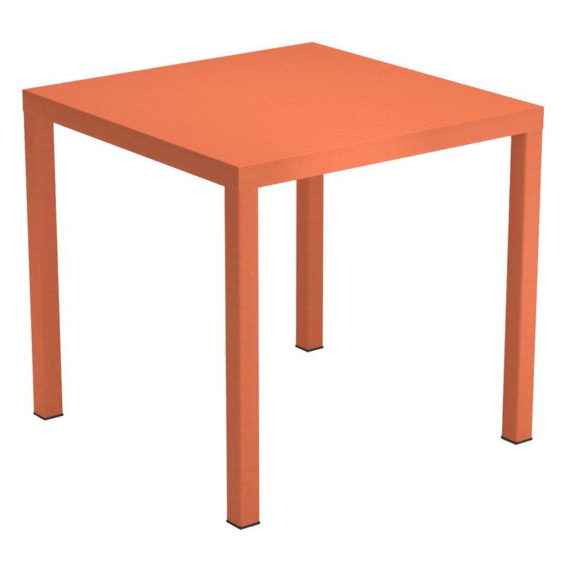 Emu Nova pöytä 80 x 80 cm, maple red