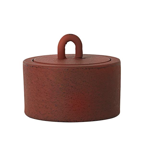 Ferm Living Buckle Jar, small, rust