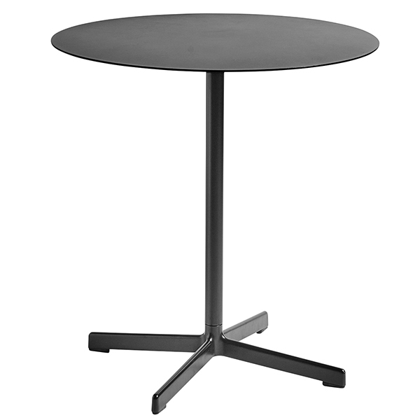 Hay Neu table round, charcoal