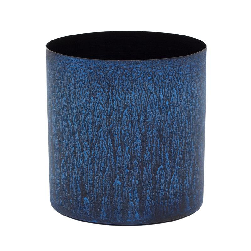 Klassik Studio Enzo 18 flower pot, blue