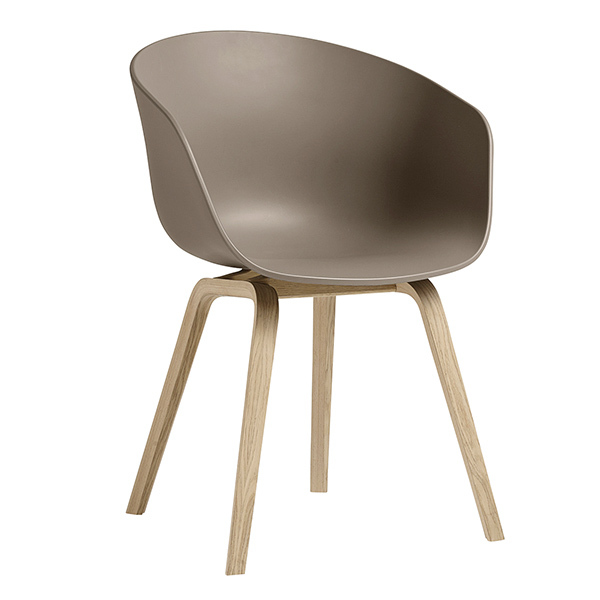 Hay About A Chair AAC22, khaki - matt lacquered oak