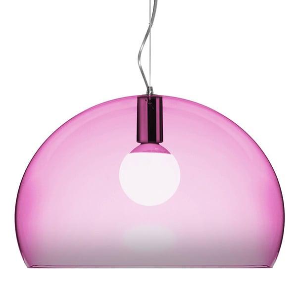 Kartell Fl Y Pendant Lamp Pink