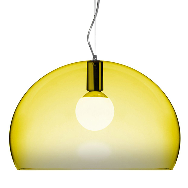 Kartell FL/Y pendant lamp, yellow