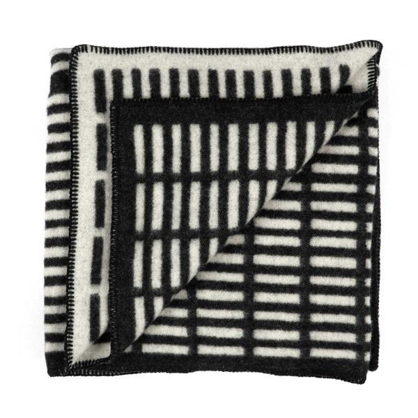 Artek Siena blanket, black-white