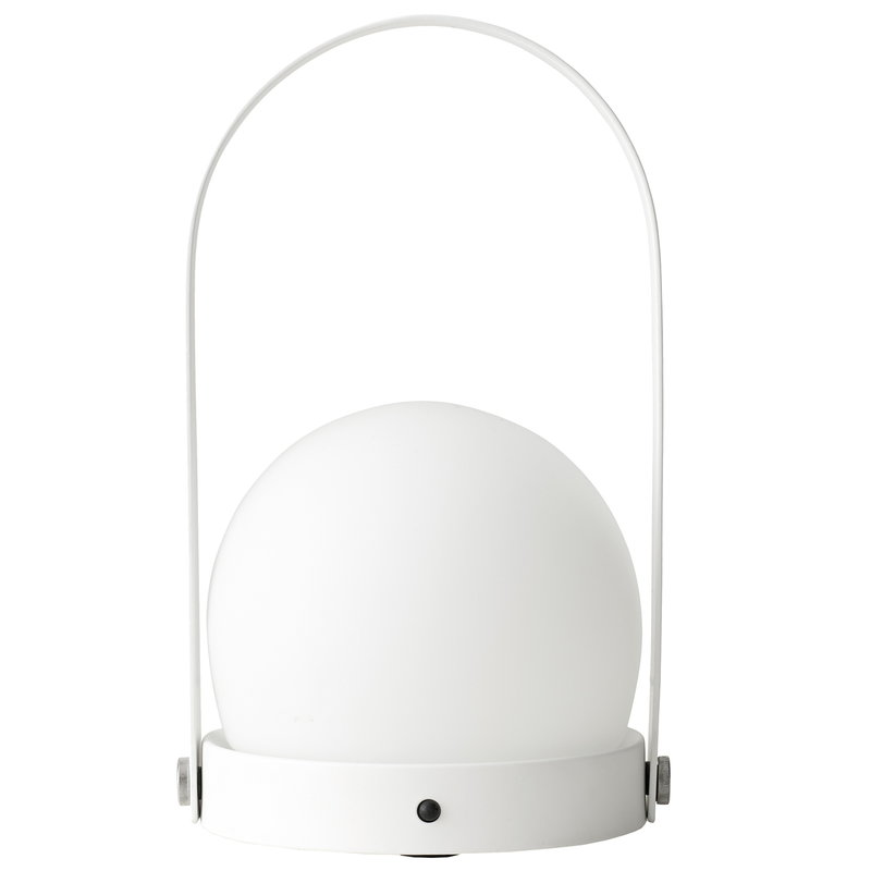 Menu Carrie LED table lamp, white