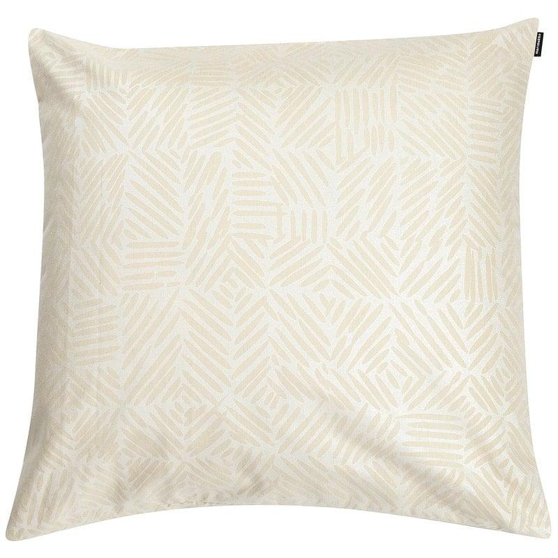 Marimekko Juustomuotti tyynynpäällinen 50 x 50 cm, beige - platina