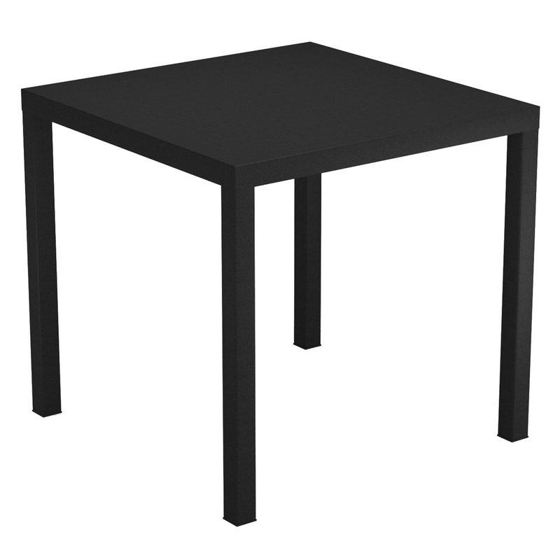 Emu Nova table 80 x 80 cm, black