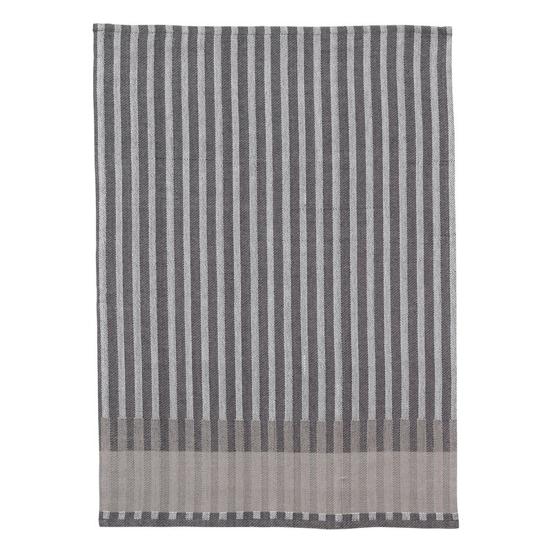 Ferm Living Grain tea towel, grey
