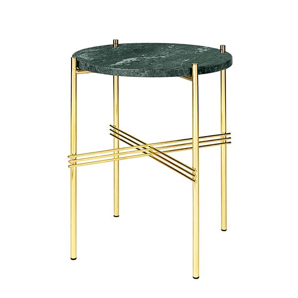 Gubi TS Coffee Table, 40 Cm, Brass