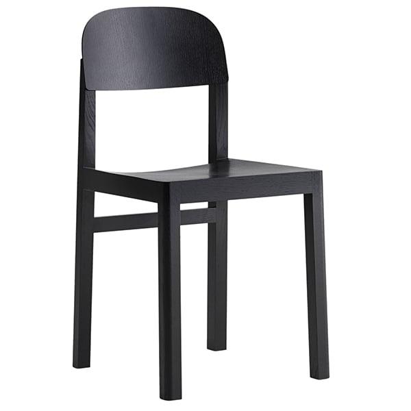 Muuto Workshop tuoli, musta