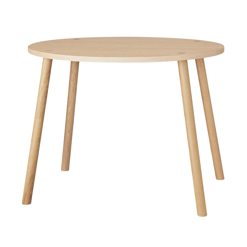 Nofred Mouse table, low, lacquered oak