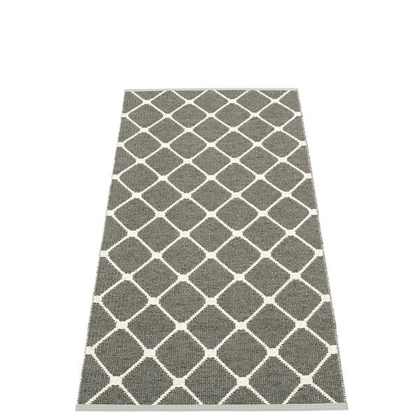 Pappelina Rex rug, 70 x 160 cm, charcoal