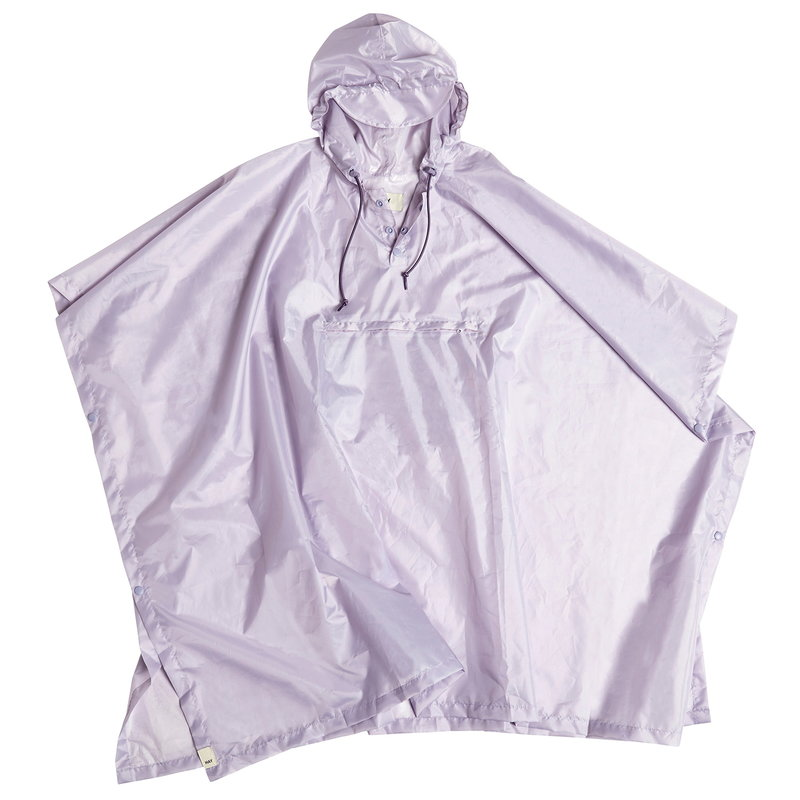 Hay Mono rain poncho, lavender