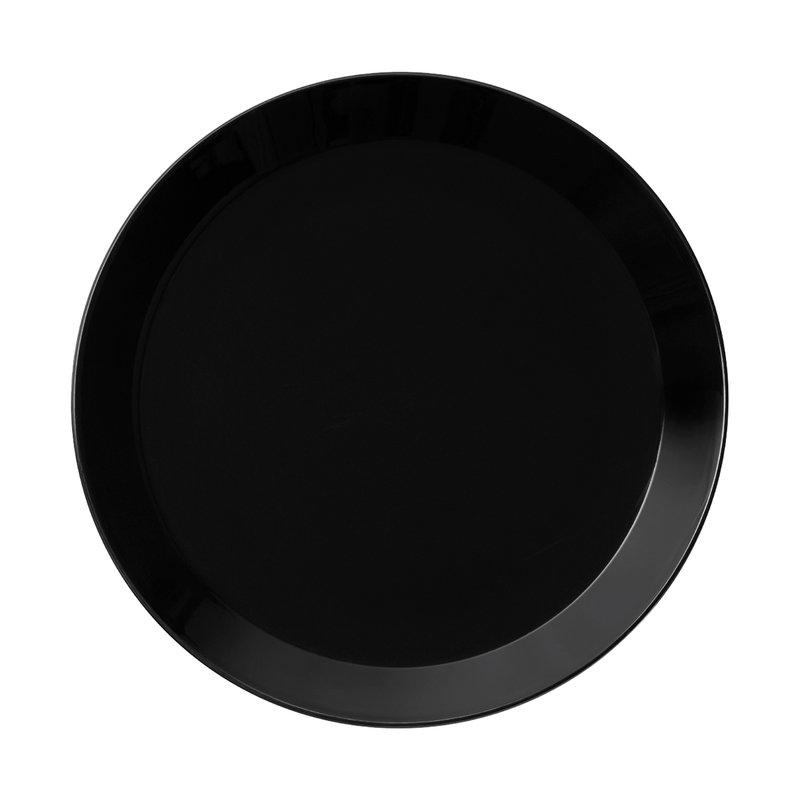 Iittala Teema lautanen 21 cm, musta