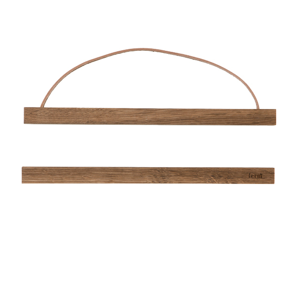 Ferm Living Wooden frame small, dark brown