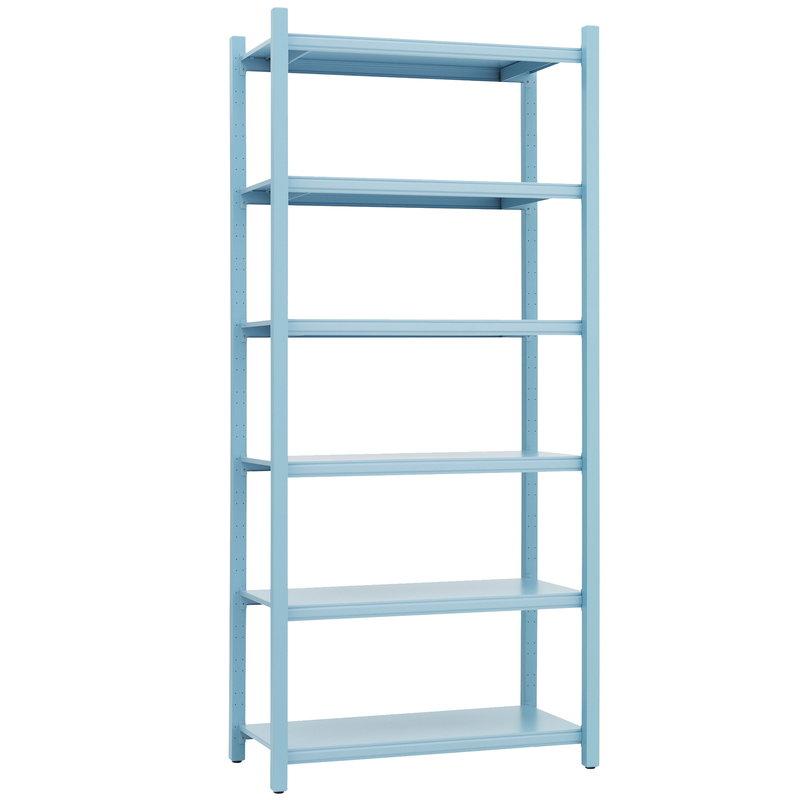 Normann Copenhagen Work bookcase, high, light blue