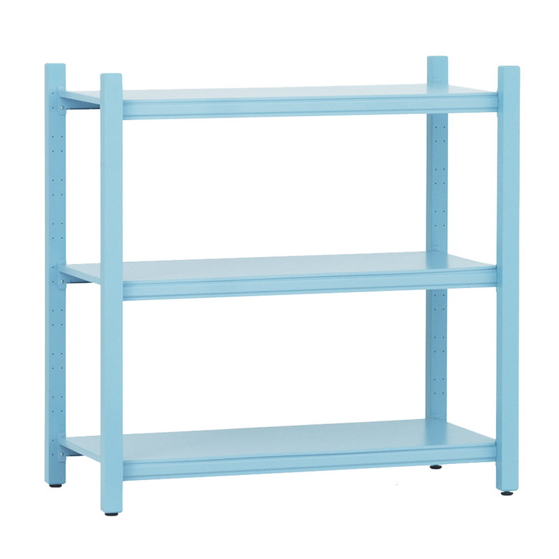 Normann Copenhagen Work bookcase, low, light blue