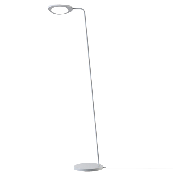 Muuto Leaf floor lamp, grey