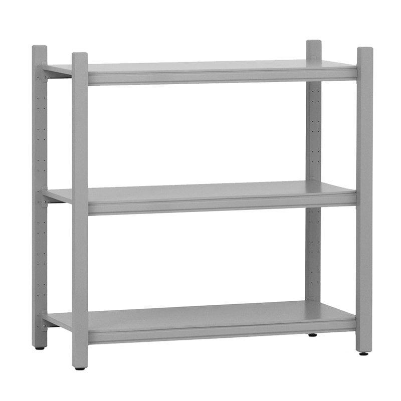 Normann Copenhagen Work bookcase, low, grey
