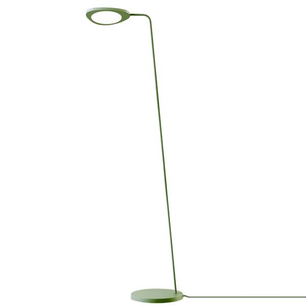 Muuto Leaf floor lamp, green