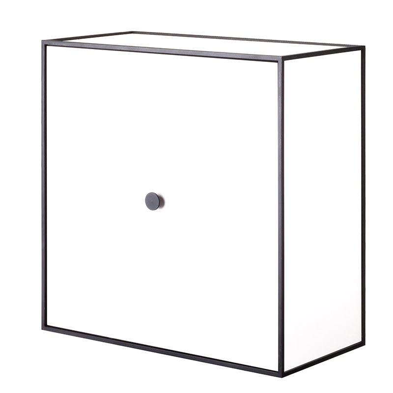 By Lassen Frame 42 box with door, white