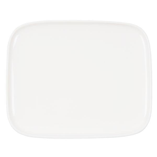 Marimekko Piatto Oiva 15 x 12 cm, bianco