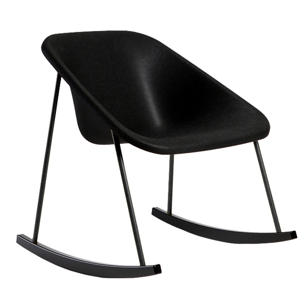 Inno Kola light rocking chair, black