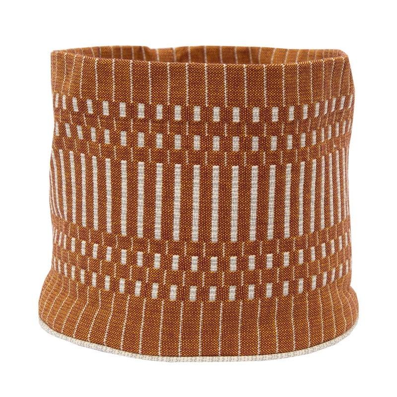 Johanna Gullichsen Helios fabric basket S, brick