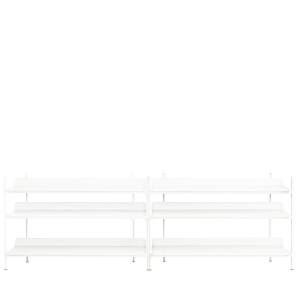 Muuto Scaffale Compile, Configuration 6, bianco