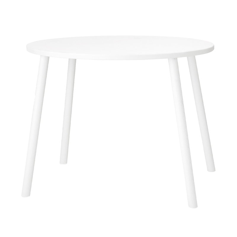 Nofred Mouse table, low, white