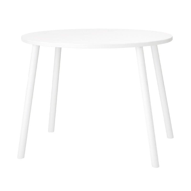 Nofred Mouse pöytä, matala, valkoinen