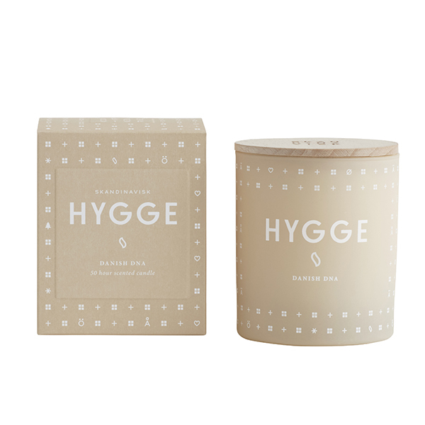 Skandinavisk Scented candle with lid, HYGGE