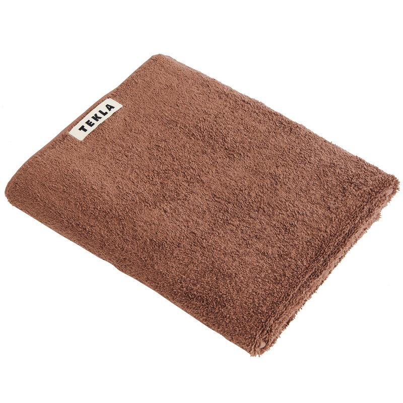 Tekla Bath sheet, 100 x 150 cm, kodiak brown