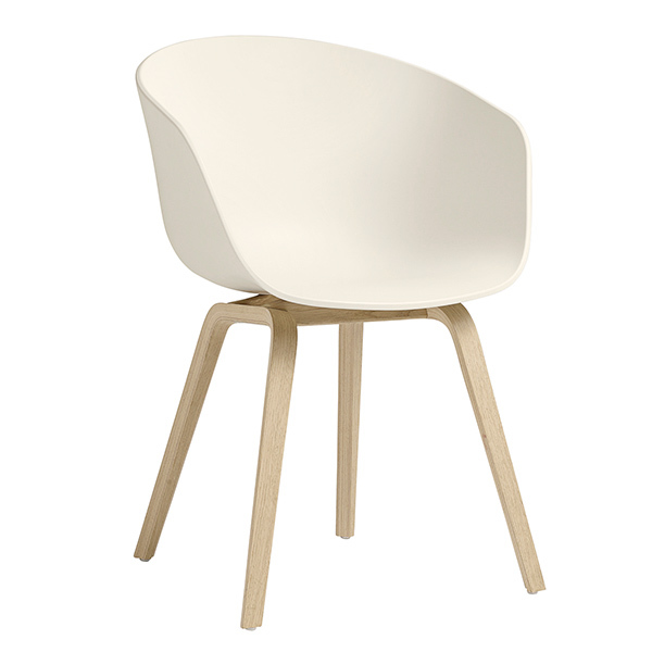 Hay About A Chair AAC22, rovere - cream white