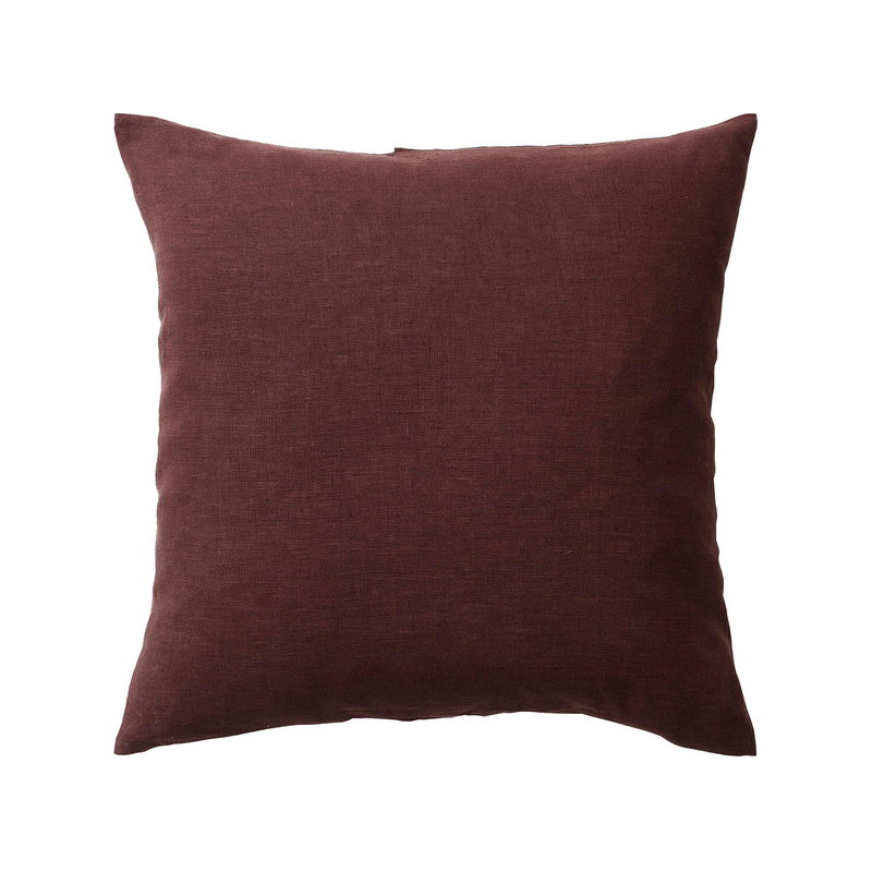 &Tradition Collect Linen SC28 tyyny, 50 x 50 cm, burgundy