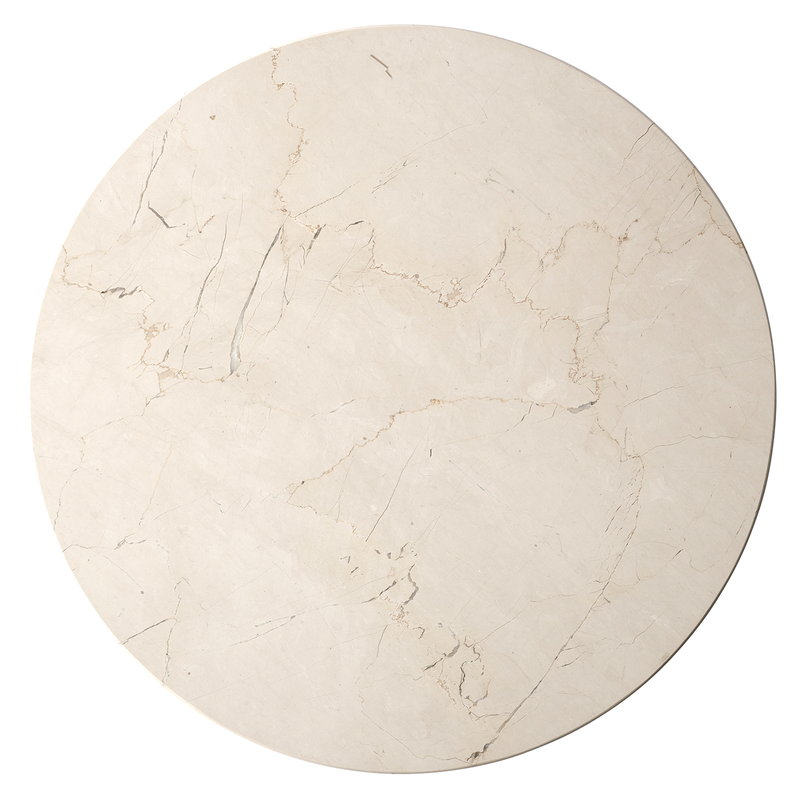 Menu Marble top for Androgyne table, white