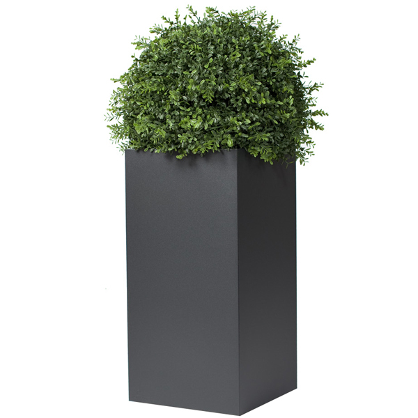 Röshults Linné pot rectangular, anthracite