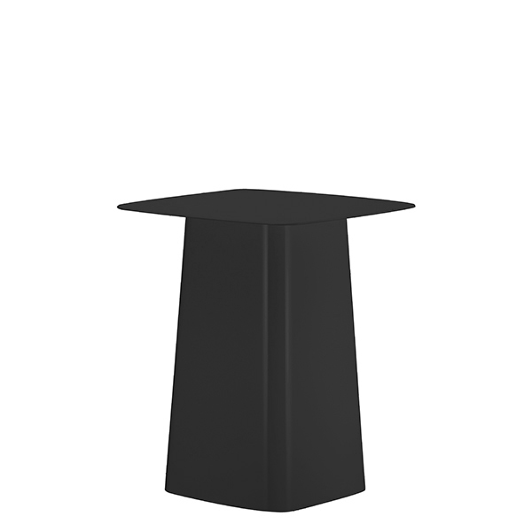 Vitra Metal Side Table, S, outdoor, black