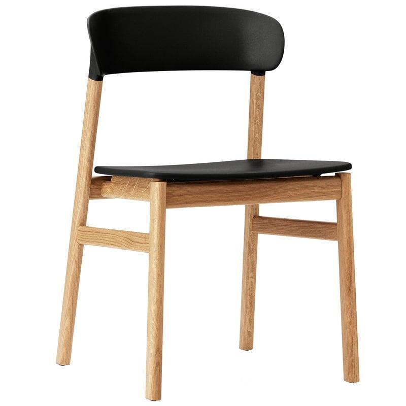 Normann Copenhagen Herit tuoli, tammi - musta