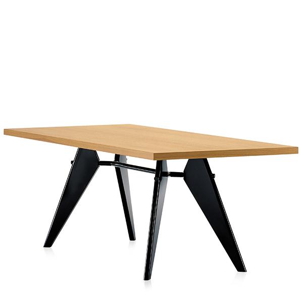 Vitra Em Table 240 x 90 cm, oak - black