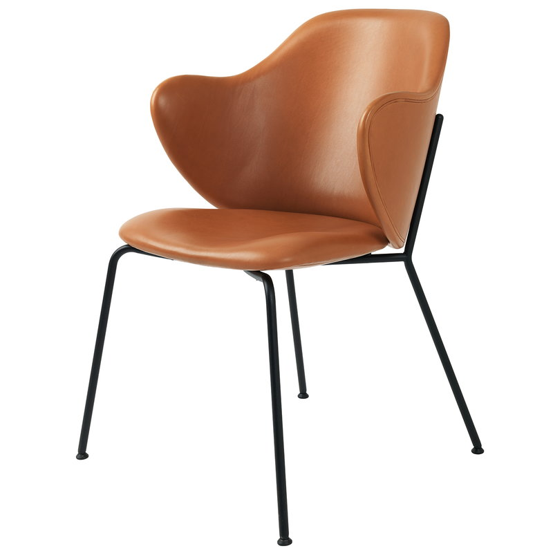 By Lassen  Lassen Chair, ochre leather