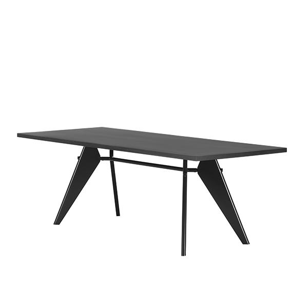 vitra em table 200 x 90 cm asphalt black finnish design shop. Black Bedroom Furniture Sets. Home Design Ideas