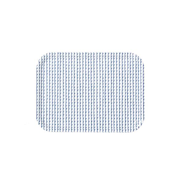 Artek Vassoio Rivi 27 x 20 cm, bianco-blu